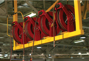 Industrial reel application