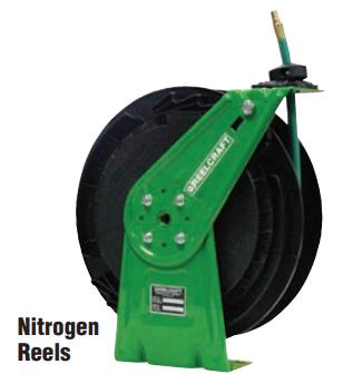 Medium Duty Spring Retractable Reels (Green) Image