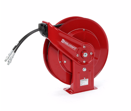 Twin Hydraulic Spring Retractable Hose Reel Image
