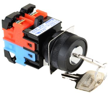 22mm Key Selector Switch (KH2202) Image
