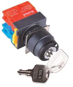22mm Key Selector Switch (NS) Image