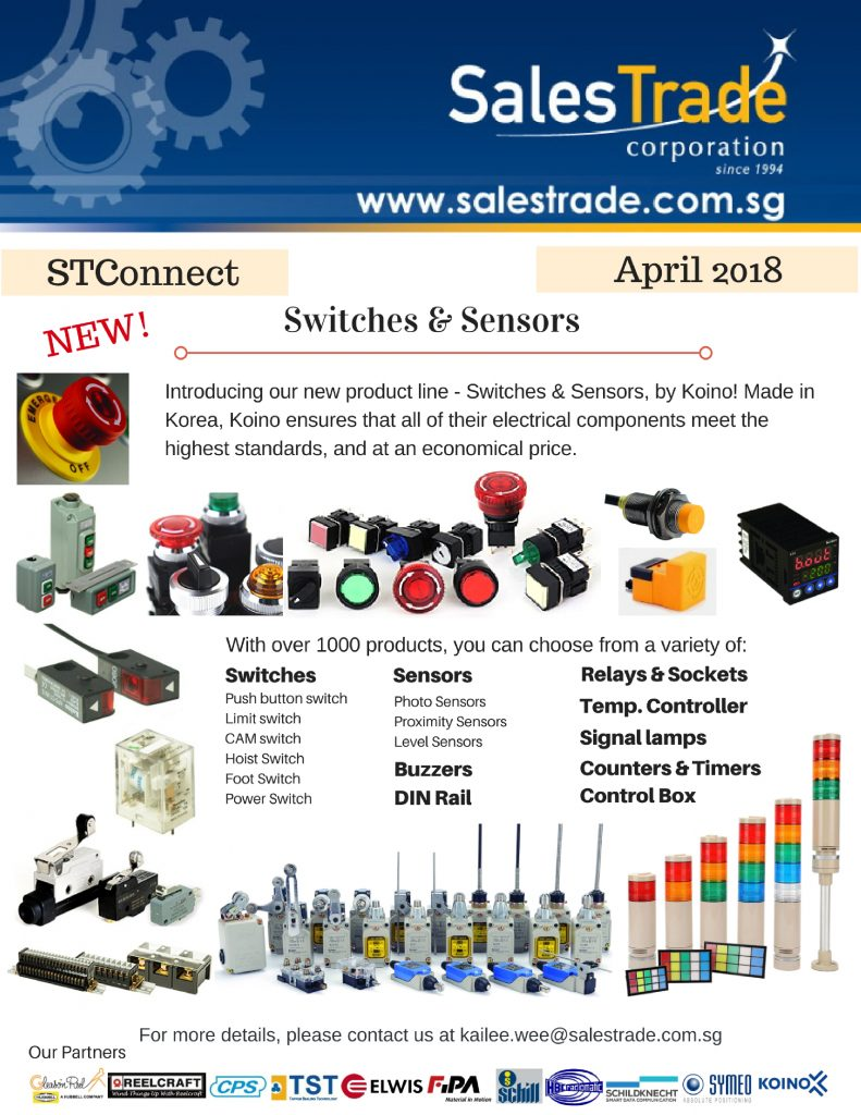 STConnect - April 2018 (Switches & Sensors)