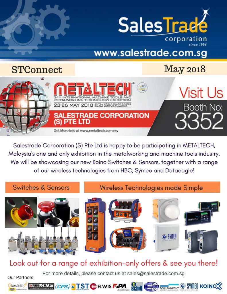 metaltech, exhibtion, koino, control switches, sensors