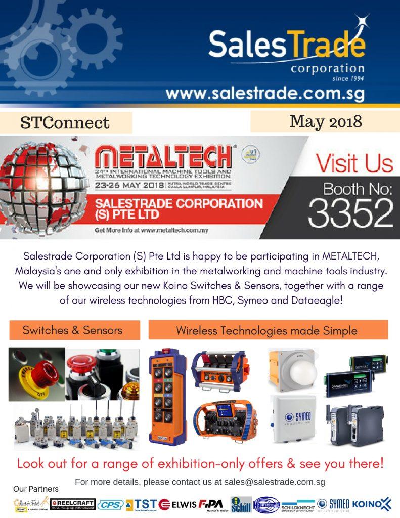metaltech, exhibtion, koino,  control switches, sensors