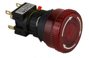 Illuminated E-Stop Switch (16mm) Image