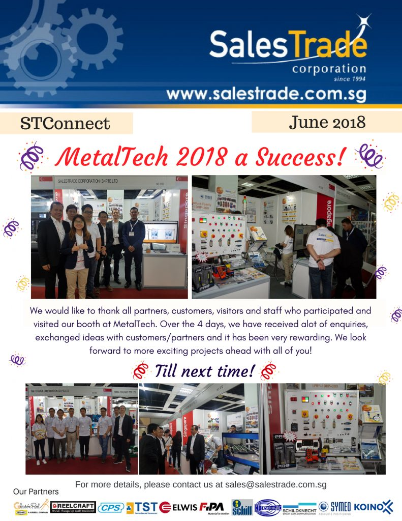 Stconnect june, metaltech, exhibition