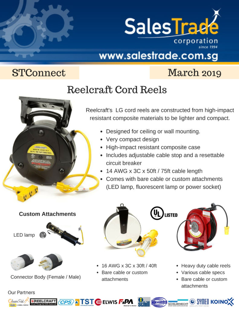 Reelcraft cable reel