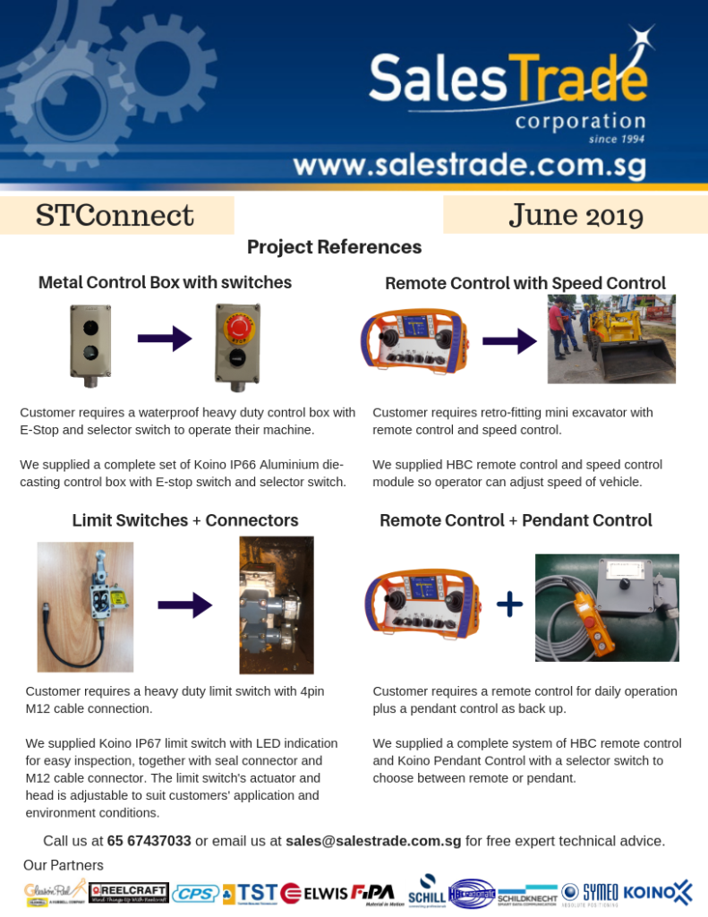 Salestrade Latest Industrial News & Updates | Let's connect!