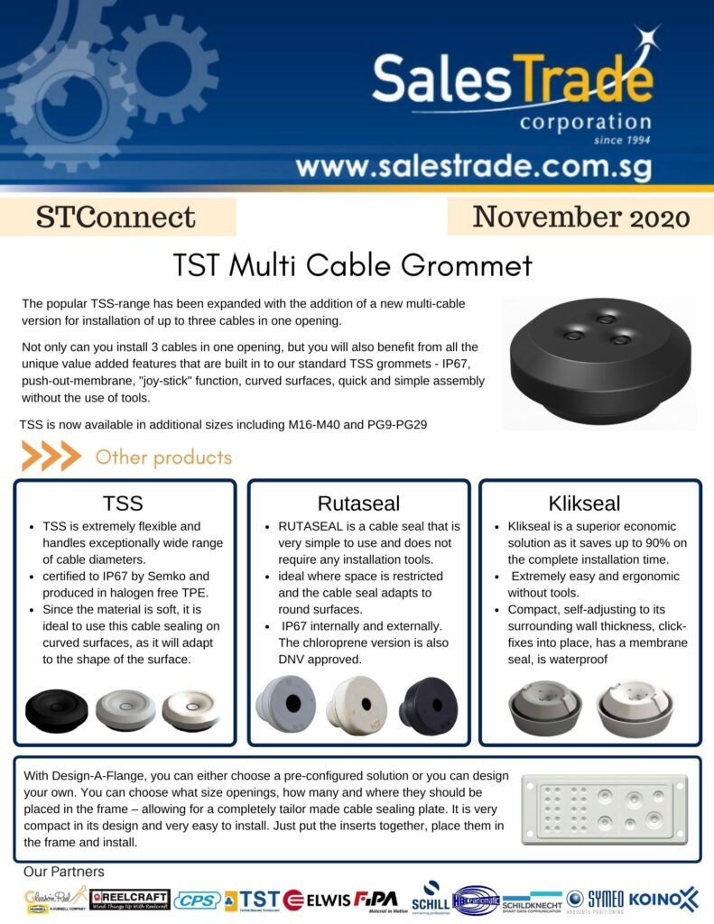 TST Multi Cable Grommet